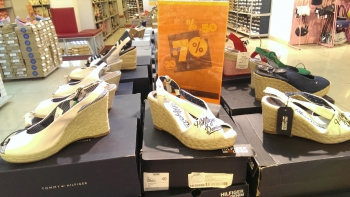 Скидки до 70% на летнюю обувь в Intertop Outlet