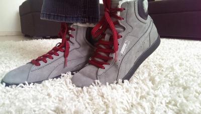 Женские ботинки Puma со скидкой