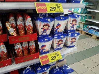 Детские подарочные наборы конфет