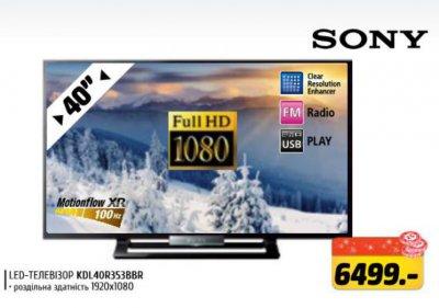 Выгодная цена на телевизор Сони