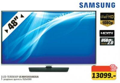 """Акционная цена в Фокстрот на телевизор SAMSUNG 48"""" Full HD"""