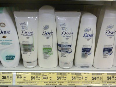 Скидка на продукцию Dove