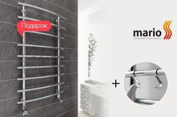 К полотенцесушителям MARIO дарим комплект S-образных крючков!