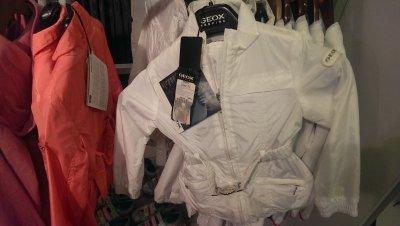 Куртка для девочки Geox по скидке!