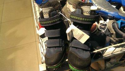 Детские зимние ботинки ECCO по сниженной цене!