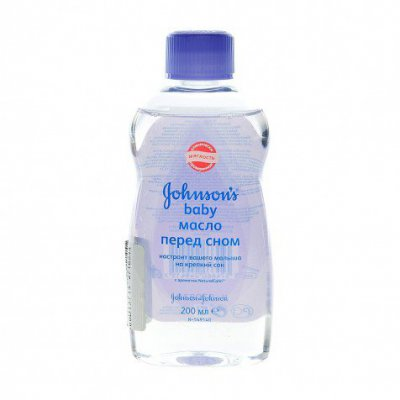"Скидка на масло Johnson & Johnson ""Перед сном""!"