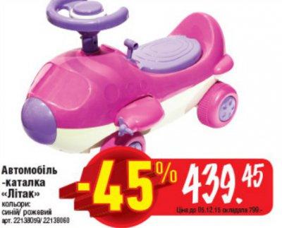 """Детский автомобиль """"Самолет"""" по супер цене!"""