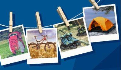 Скидка 40% на летнюю коллекцию 2015 товаров для спорта и туризма!