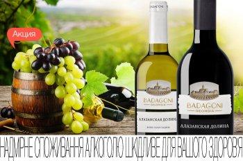 Скидки до 20% на грузинские вина Бадагони!