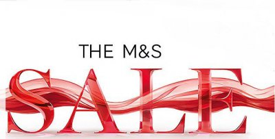 Sale -50% в M&S!