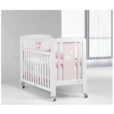Кроватка Star White/Pink bright со скидкой!