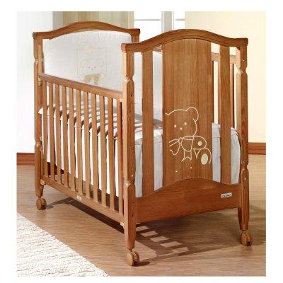 Низкая цена на детскую кроватку Classic Bear Antique/Cream ТМ Trama