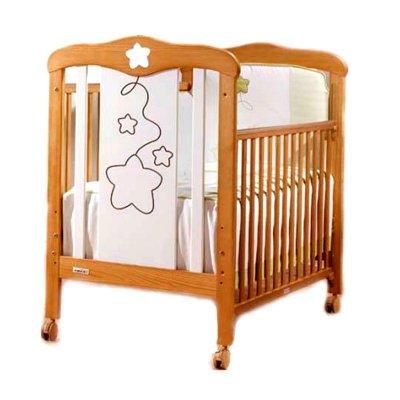 Супер цена на детскую кроватку Cosmos Roble/Blanco mate!