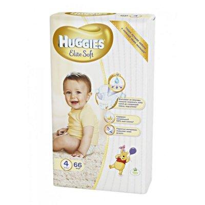 Скидки на подгузники Huggies Elite Soft 4!