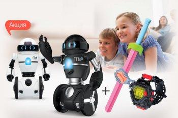 К акционым игрушкам ТМ Wow Wee и Spin Master Spy Gear - подарки!