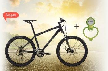 К велосипедам Felt - передний фонарь в подарок!