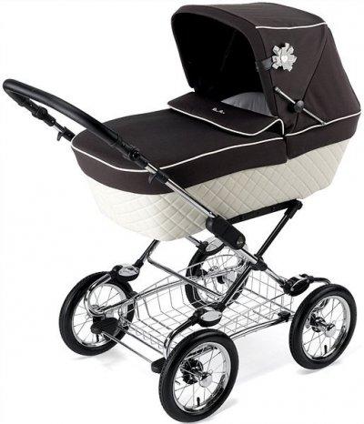 При покупке универсальной коляски Silver Cross Sleepover Elegance - коляска-трость в подарок!