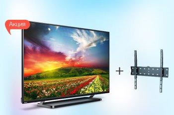К телевизору Toshiba 43S2650EV - кронштейн в подарок!