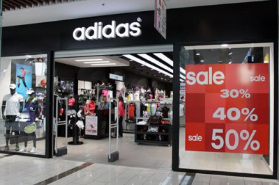 Распродажа в Adidas