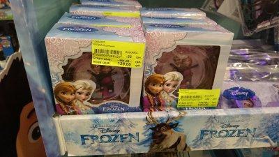 Скидка на детский будильник Frozen в Planettoys