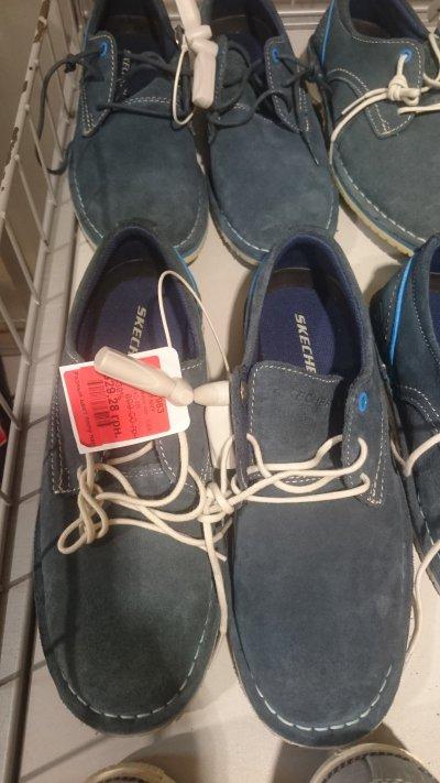 Скидка на мужские туфли Skechers