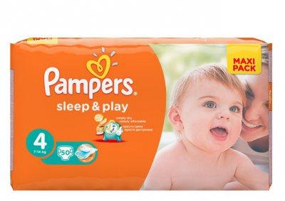 PAMPERS Sleep&Play по низкой цене в МЕТРО