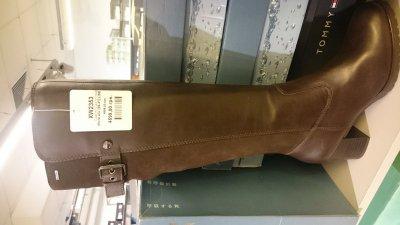 Женские сапоги Geox коричневые по супер цене
