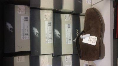 Скидки на мужские ботинки Geox