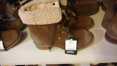 Супер цена на женские зимние ботинки Plato