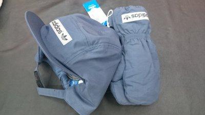 Набор шапка+варежки для мальчика Adidas по низкой цене