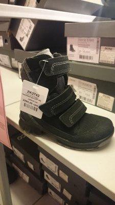 Скидка на ботинки ECCO детские