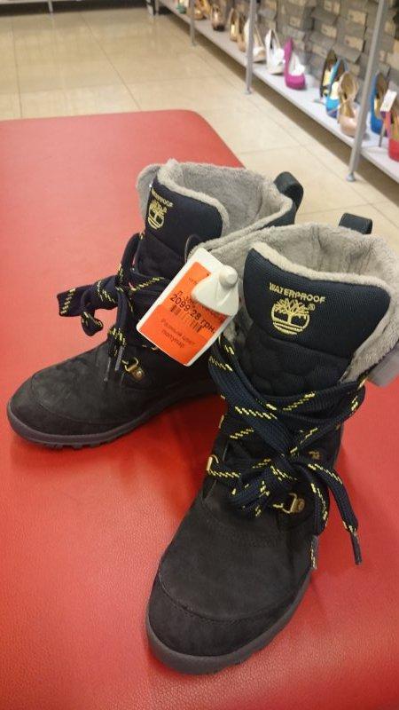 Зимние сапоги Timberland по супер цене