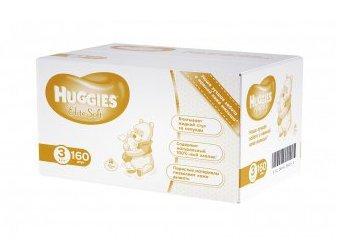 Скидка на подгузники Huggies Elite Soft 3