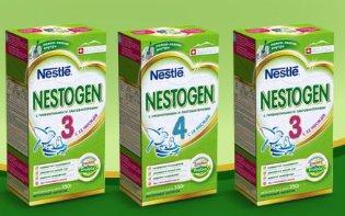 Акция 1+1=3 на детское молочко Nestogen