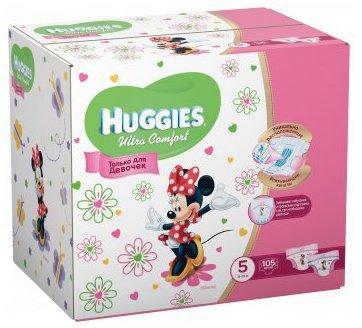 Huggies Ultra Comfort 5 по супер цене