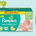 Подгузники Pampers Active Baby-Dry по супер цене