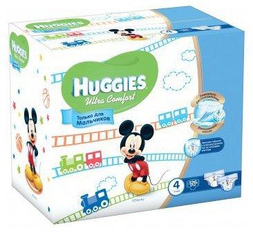 Распродажа подгузников Huggies Ultra Comfort Disney Box