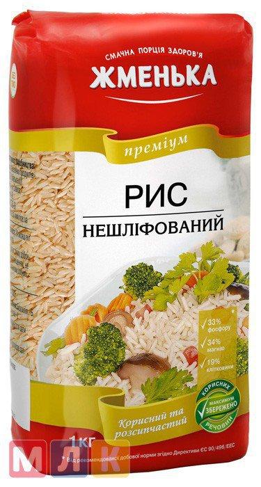 Жменька Рис нешлифованный, 1 кг