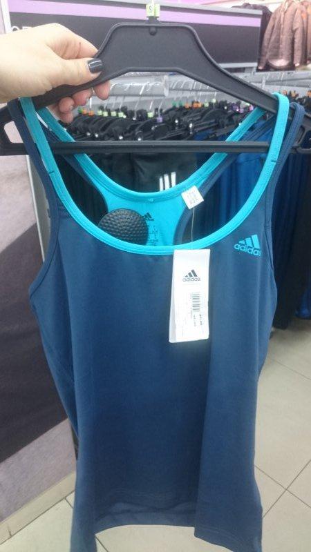 Скидка на майку Adidas женскую