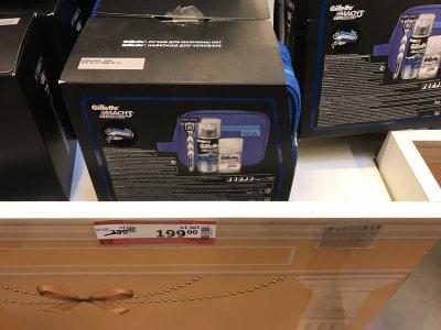 Скидка на набор Gillette для бритья