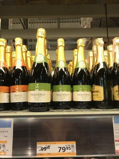 Скидки на шампанское Fragolino Fiorelli