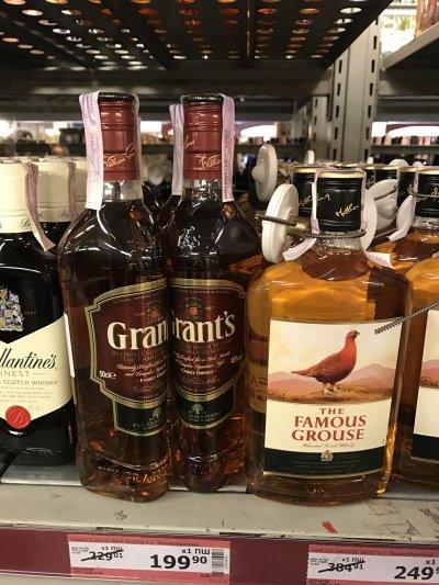 Виски Grant's 0,5 л по супер цене