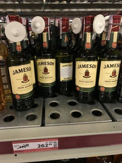 Виски Jameson 0,5 л со скидкой