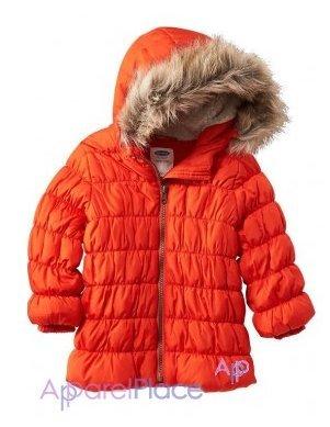В наличии! OldNavy Куртка оранжевая 0-24