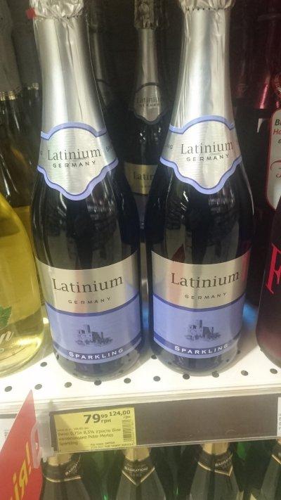 Скидка на игристое вино Peter Mertes Latinum Sparkling