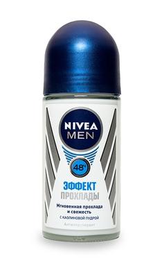 Мужской дезодорант Nivea эффект прохлады