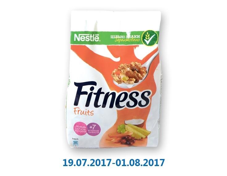 Готовый завтрак из цельной пшеницы с фруктами ТМ «Fitness» - 235 г