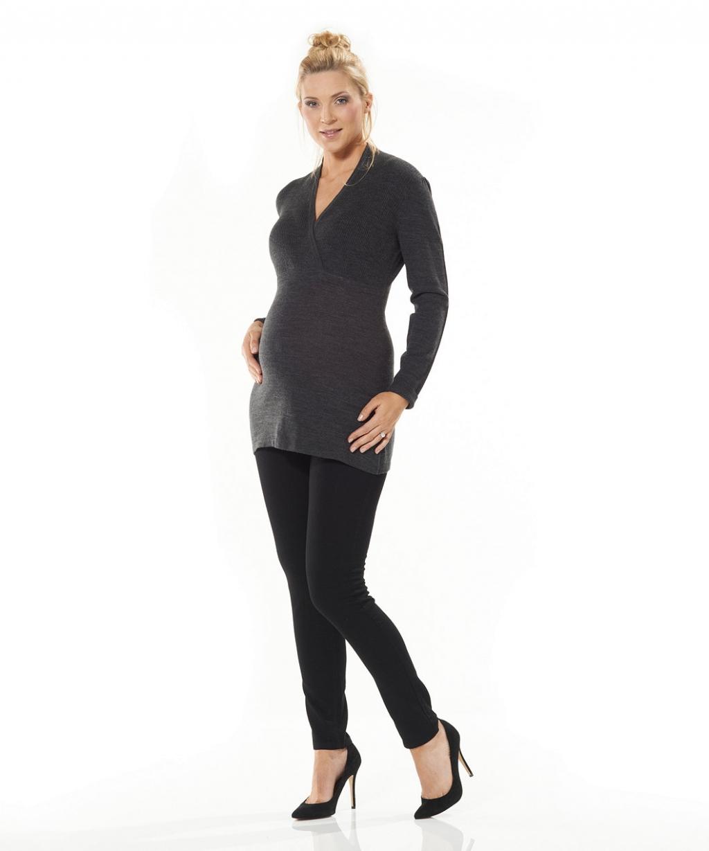 Джемпер для майбутніх мам, колір сірий (Mothercare)
