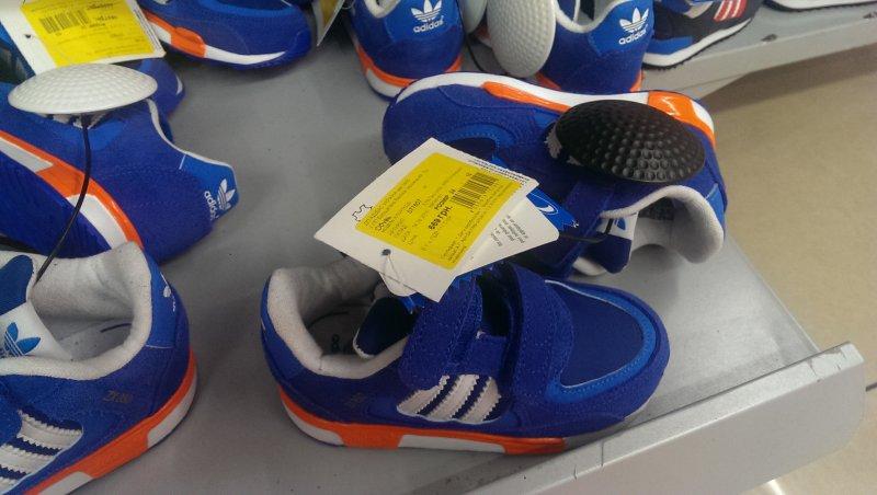 0d340f97 Супер цена на детские кроссовки Adidas синего цвета! купить со ...