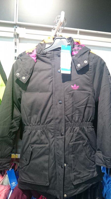 53ea2e84ea15 Скидки на детские куртки Adidas для девочек купить со скидкой ...